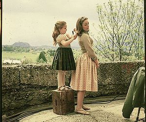 beauty, sound of music, and vintage image
