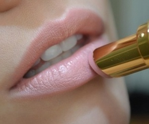 cosmetic, lipstick, and Nude image