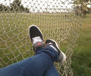 girl, rest, and shoes image