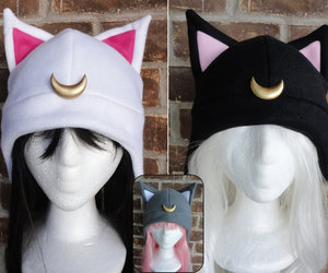 hat and sailor moon image
