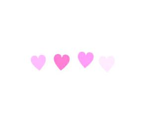 ピンク, 素材, and ハート image