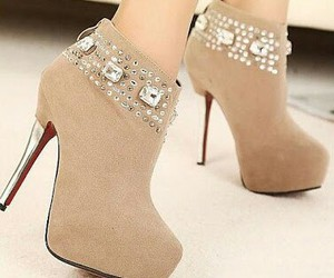 shoes and beige image