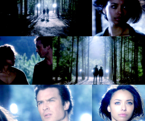 Bonnie, damon, and the vampire diaries image