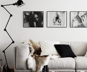 interior, home, and white image