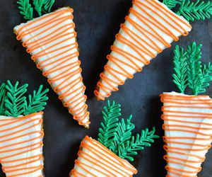 cake, carrot, and carrot cake image