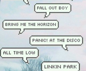bands, fall out boy, and wallpaper image