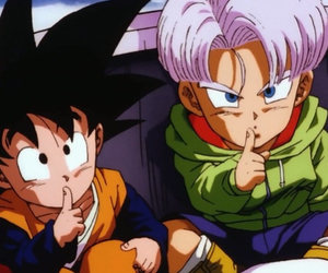 dragon ball, trunks, and z image