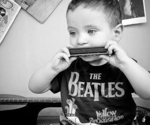 the beatles, baby, and beatles image