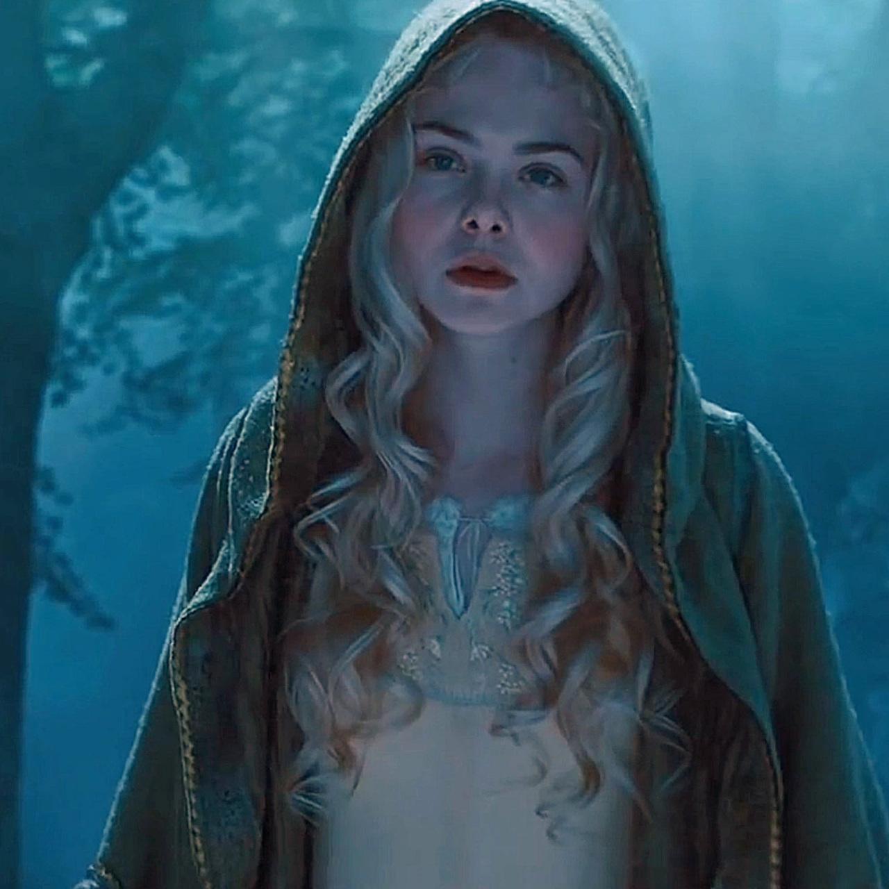 maleficent, Elle Fanning, and aurora image