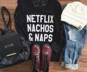 chic, outfit, and clothes image