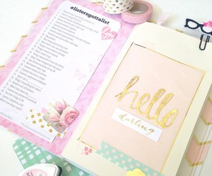 girly and planner image