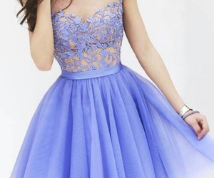 dress, lovely, and romance image