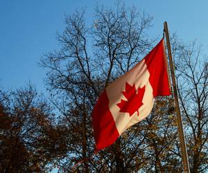 canada and canadian flag image