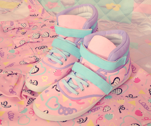 design, shoes, and pastel image