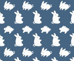 bunny, wallpaper, and rabbit image