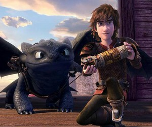 dreamworks, how to train your dragon, and httyd image
