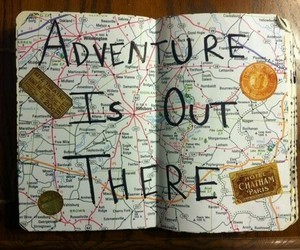 adventure, life, and maps image