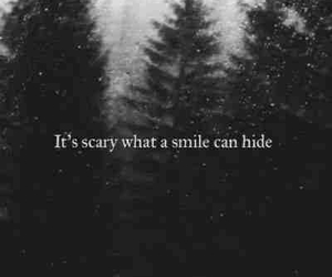 smile, scary, and quotes image