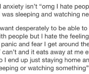 alone, anxiety, and lonely image