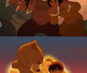 disney, brothers, and brother bear image