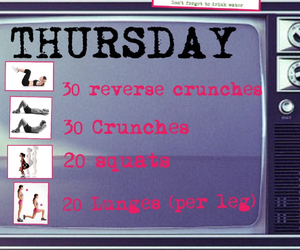 exercise and thursday image