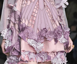 detail, purple, and runway image