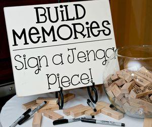 wedding, memories, and ideas image