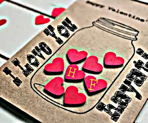 I Love You, forever together, and love image
