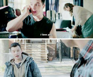 gallavich, shameless, and mickey milkovich image