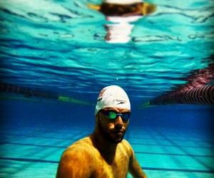 agua, piscina, and sport image