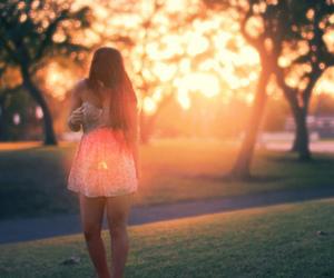 girl, photography, and dress image