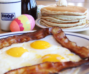 breakfast, food, and ihop image