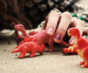 dinosaur, toys, and cute image