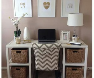 home office, interior design, and love it image