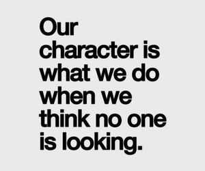 quotes, character, and true image