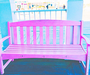chair, pretty, and pastel image