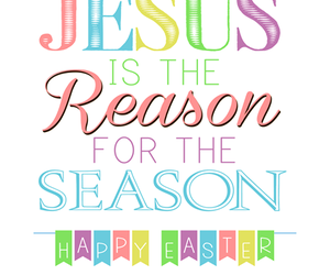 easter, jesus, and love image
