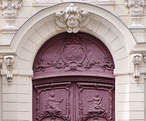 door, architecture, and paris image