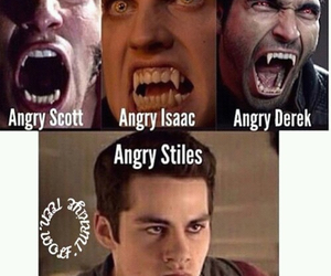 angry, dylan o'brien, and derek hale image