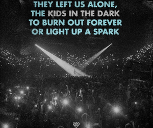 all time low, kids in the dark, and future hearts image
