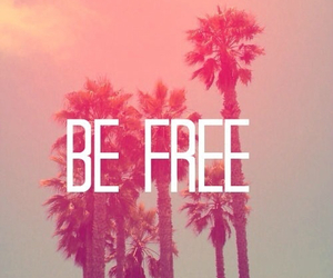 free, be free, and summer image