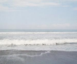 beach, ocean, and grunge image