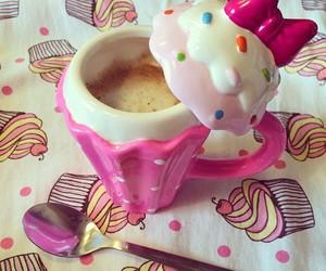 pink, cup, and mug image