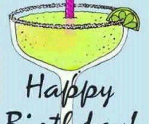 birthday, glass, and wines image