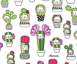 cactus, background, and wallpaper image