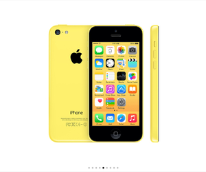 apple, iphone 5c, and iphone image