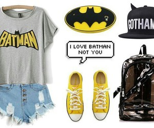 batman, style, and look image