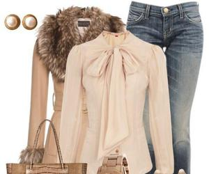 heels, bag, and outfit image