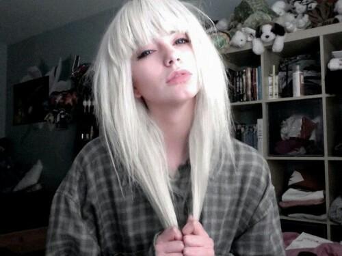 hair and white hair image