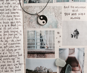 Collage, moleskine, and hipster image